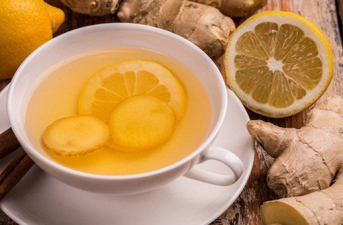 Zencefilli limonlu kış çayı 1 yaş sonrası çocuklar ve yetişkinler için